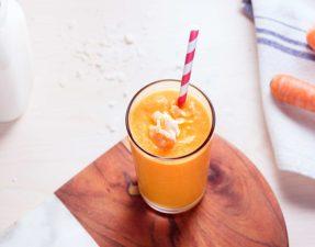 Сыроедческий Морковно-Кокосовый Смузи