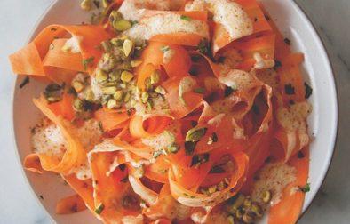 Сыроедческий Морковный Салат