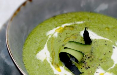 Сыроедческий Зеленый Суп из Кале